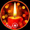 Romantic Candle LWP icon