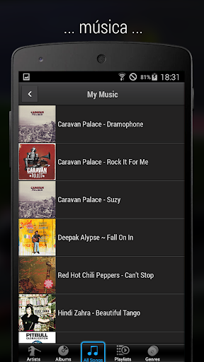 iMediaShare – Fotos y música screenshot 4