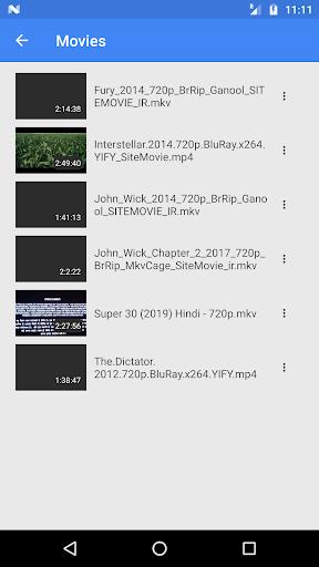 Mp4 Time  Player screenshots 1
