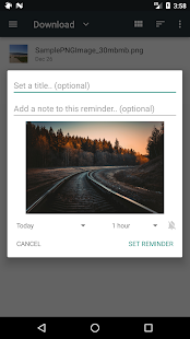 Remindee - Create reminders from any app! Screenshot