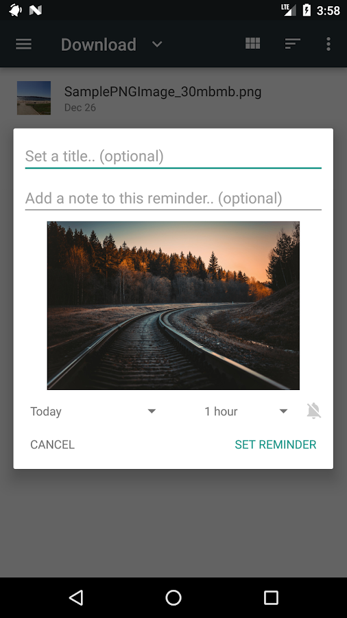 Remindee - Create reminders from any app!- screenshot