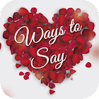 Ways To Say I Love You icon