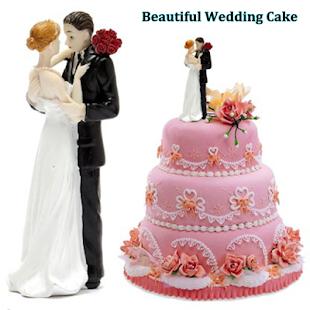 Krásný svatební dort - náhled