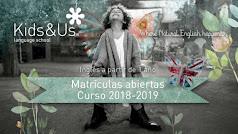 Imagen de la Campaña de Matriculación Curso 2018-2019 en Kids&Us.