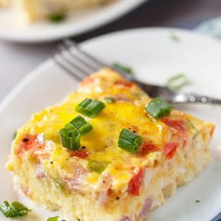Baked Omelette Vegetables Recipes