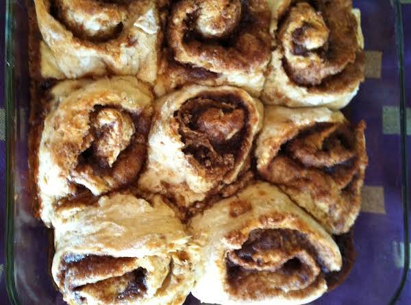 Cinnamon Rolls Without Frosting
