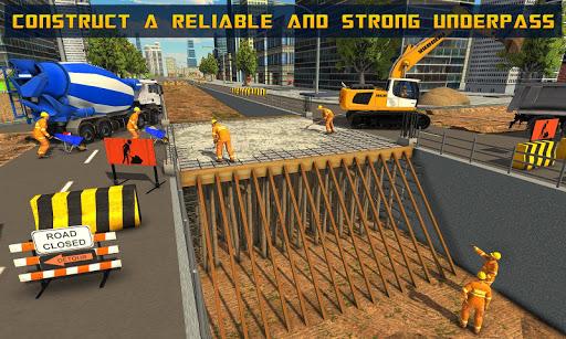 Mega City Underpass Construction: Bridge Building ss2
