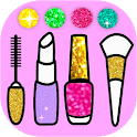 Beauty Coloring Book Glitter - ART Game icon
