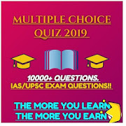 MULTIPLE CHOICE G.K QUIZ 2019