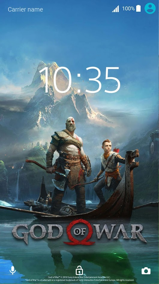 Sony lança Xperia Themes do God of War e outros 1