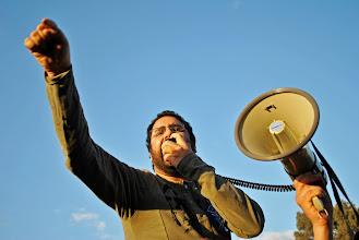Photo: Blogger and activist Alaa Abdel Fattah.