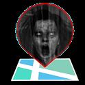 Real ghost detector radar sensor hunting emf icon