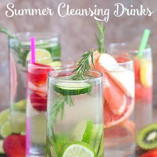 5 Must Have Summer Cleansing Drinks.