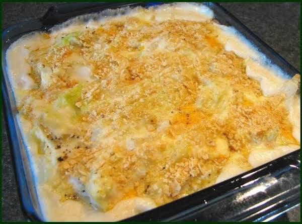 Mom's Au Gratin Cabbage Recipe