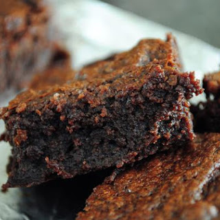 Thick, Fudgy, One Bowl Brownies
