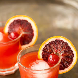 Blood Orange Whiskey Sour.