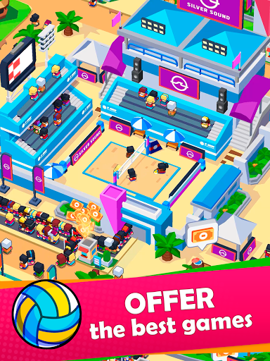 Idle Sports City Tycoon Game: Build a Sport Empire apkpoly screenshots 15