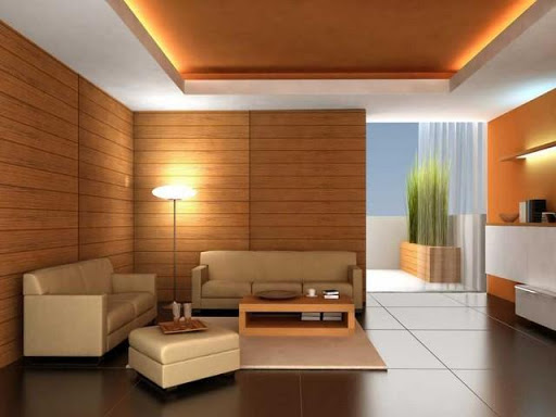 Desain Cat Ruang Keluarga