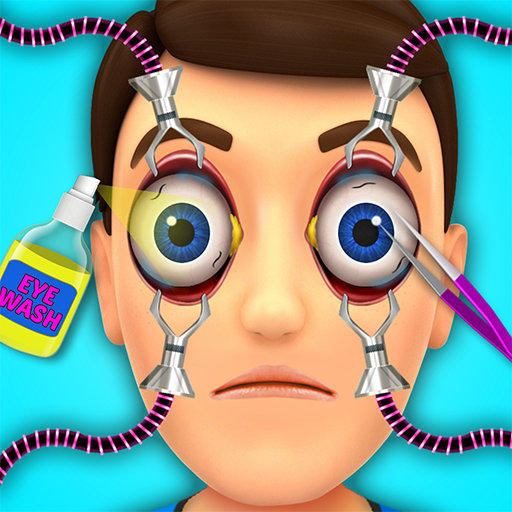 Kids ER Eye Surgery Simulator - Crazy Doctor Game