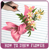 How to Draw Flowers - Draw Flowers Step By Step