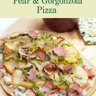 Pear & Gorgonzola Pizza.