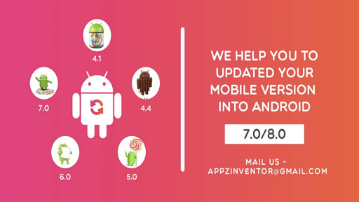 Update for Android (info) - Software up to date 2.0.127.8 screenshots 1
