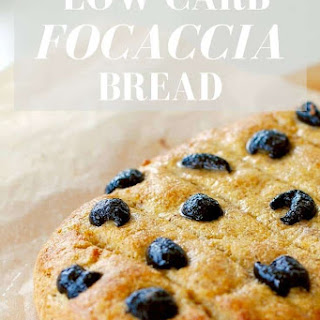 Low Carb Focaccia Bread.