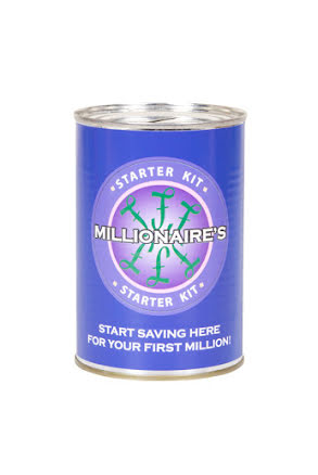 Sparbössa, Millionaire