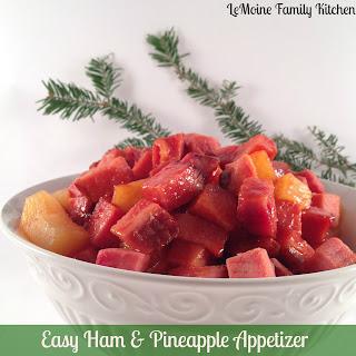 Easy Ham & Pineapple Appetizer.