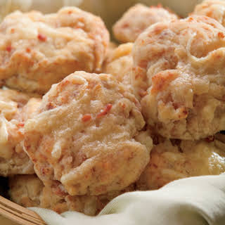 Country Ham and Cheese Biscuits.
