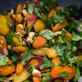 Curried Carrot Cashew Salad.