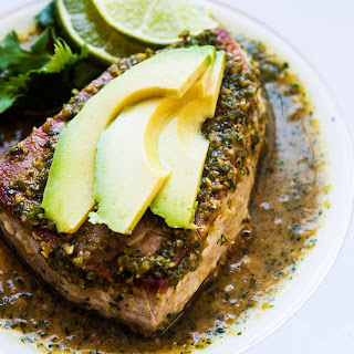 Seared Tuna with Avocado Recipe