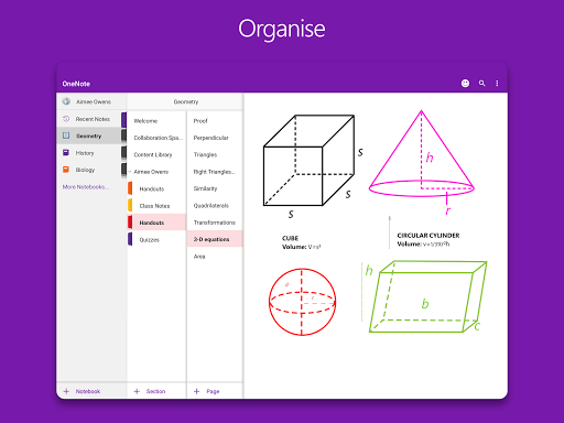 OneNote screenshot 7