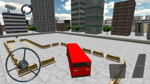 バス駐車場シミュレータ3D