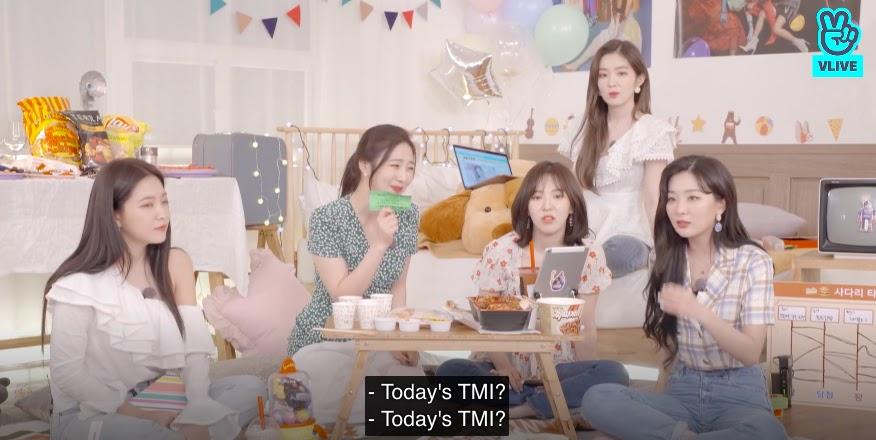 Red Velvet Live Broadcast