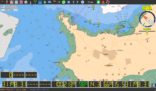 qtVlm Navigation and Weather Routing 5.9 screenshots 18