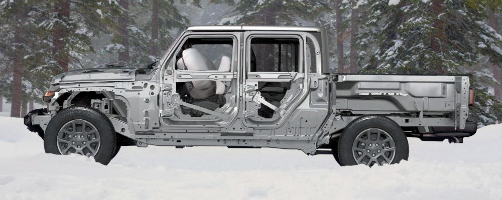 Jeep Gladiator Rubicon seguridad