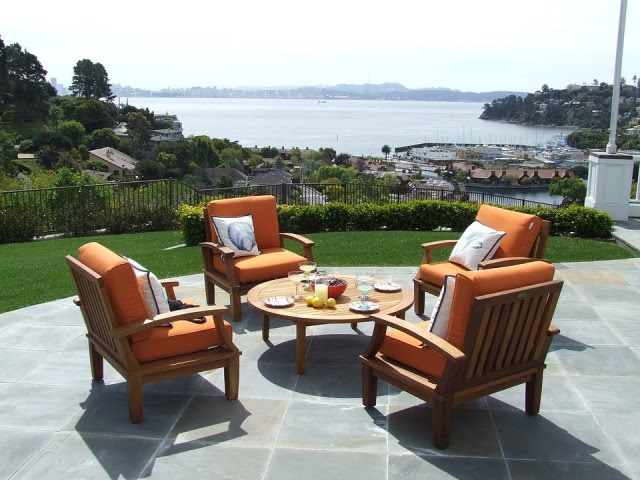 Teak, Teak Patio Furniture, Teak Furniture, Patio Set