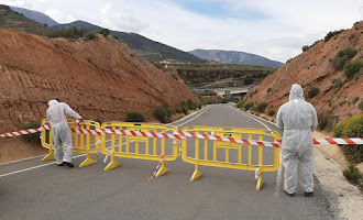 La Alpujarra cierra sus accesos para la cuarentena