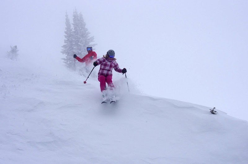 Photo: A nice morning to take a hit off cornice...