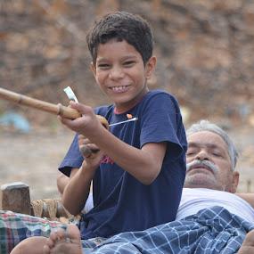 Joy by Ravi Shankar - People Street & Candids ( village, joy, smile, kid )