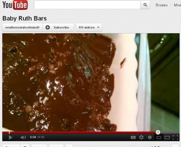 Baby Ruth Bars Recipe