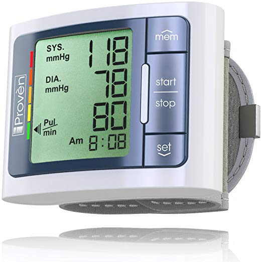 image of iProven blood pressure monitor