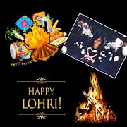 Happy Lohri Greetings Card Creator For Greetings