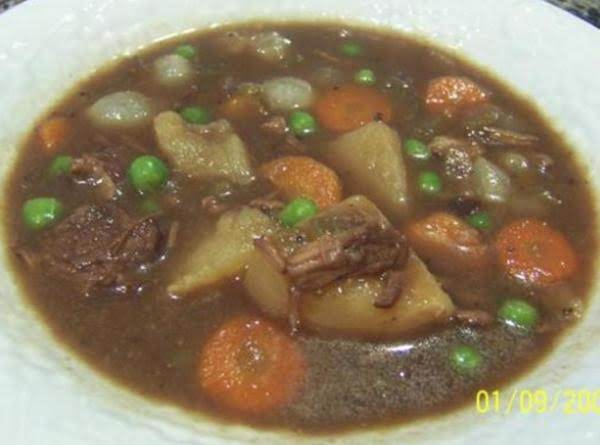Simple Crockpot Beef Stew