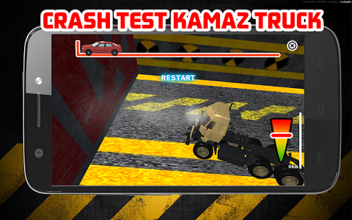 Crash Test KAMAZ TRUCK