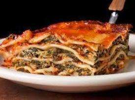 Russ's Spinach Lasagna Recipe