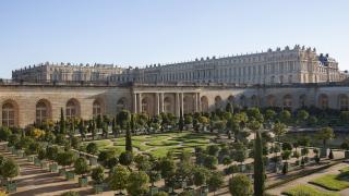 imagen de los jardines de Versalles