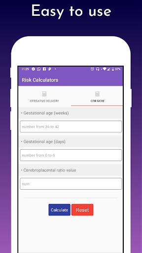 IRIS tool for SGA babies screenshot 3