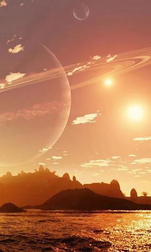 Alien Worlds Live Wallpaper screenshots 1